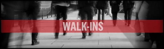 Walk-Ins