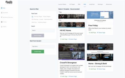 A Fresh Page Library, New Buttons, Redesigned Header